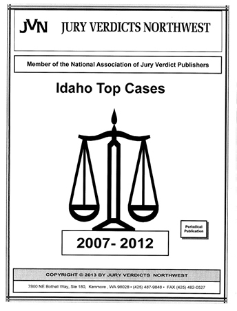 Top Cases Idaho 2007-2012