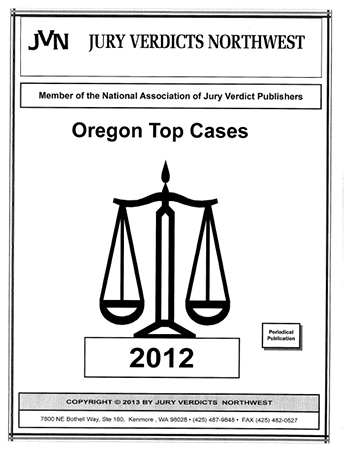2012 Top Cases for Oregon