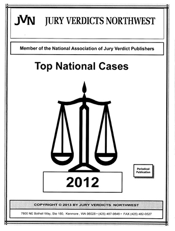 Top Cases National for  2012